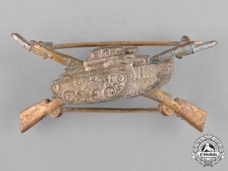 Spain, Franco Period. A Blue Division Anti-Tank Breast Badge,