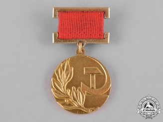 Russia, Soviet Union. A Badge of the Laureate of the State Prize in Gold