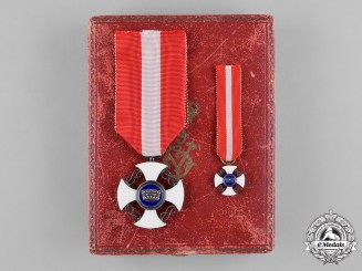 Italy, Kingdom. An Order of the Crown of Italy, V Class Knight, c.1945