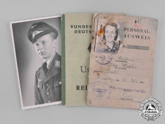 Germany, Wehrmacht. A Collection of Correspondence & Photographs of Hans Kruppa