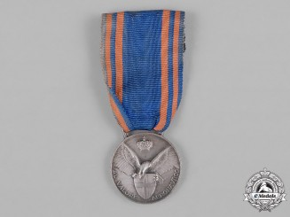 Italy, Kingdom. An Aeronautic Valour Medal, II Class Silver Grade, c.1930