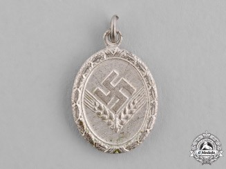 Germany, RAD/wJ. A Silver Grade Reich Labour Service of Young Women (RAD/wJ) Faithful Service Medal