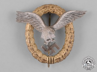Germany, Luftwaffe. A Combined Pilot and Observer Badge, by Friedrich Linden