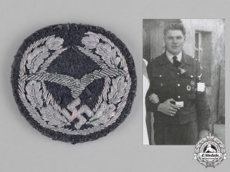 Germany, NSFK. A National Socialist Flyers Corps Glider Proficiency Insignia, Rare Private/Custom Purchase