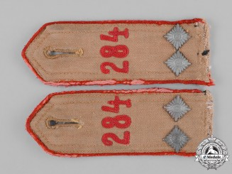 Germany, HJ. A Pair of HJ Oberbann Shoulder Straps