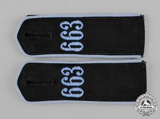 Germany, HJ. A Pair of HJ Flyer Shoulder Straps
