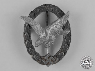 Germany, Luftwaffe. An Air Gunner Badge, by C.E. Juncker