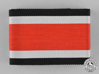 Germany, Wehrmacht. An Unissued Original Ribbon for the 1939 Knight's Cross of the Iron Cross