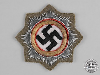 Germany, Wehrmacht. A German Cross in Gold, Rare Heer Afrika Version
