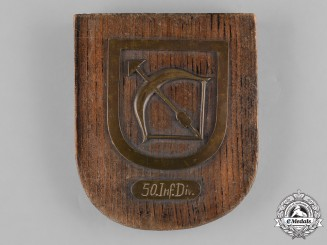 Germany, Heer. A 50th Infantry Division Plaque