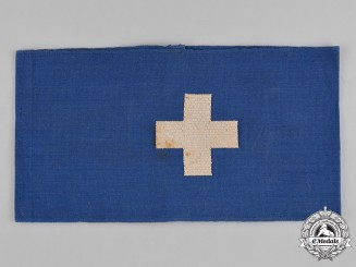 Germany, RLB. A National Air Raid Protection League Medical Personnel Armband