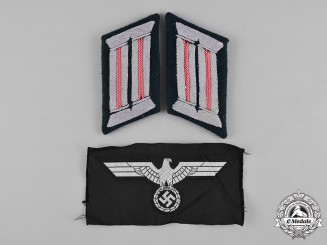 Germany, Heer. A Set of Heer (Army) Panzer Insignia
