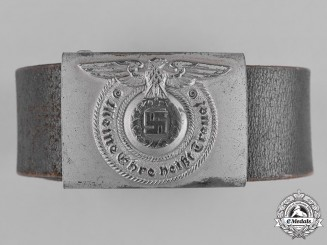 Germany, SS. A Waffen-SS EM/NCO's Belt and Buckle