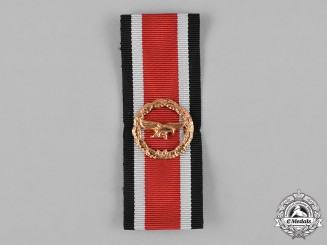Germany, Federal Republic. A 1957 Luftwaffe Honour Roll Clasp with Ribbon