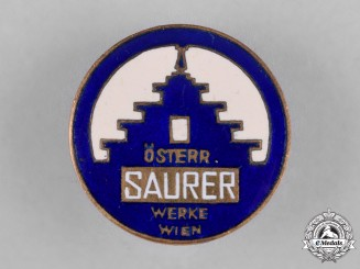 Austria, Third Reich. A Saurer Badge, by C. Poellath