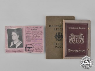 Germany, Third Reich. A Lot of Civil Identification Cards & Books