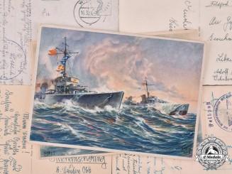 Germany, Third Reich. A Lot of Thirteen Second War Period Postcards