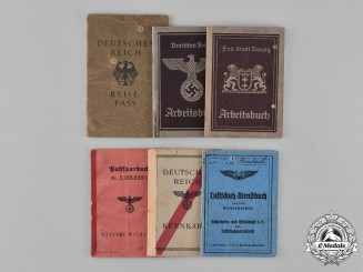 Germany, Third Reich. A Lot of Six Second War Period Identification Books
