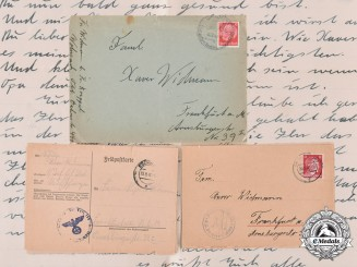 Germany, Third Reich. A Collection of Correspondence Belonging to Widmann Family Members, c.1942