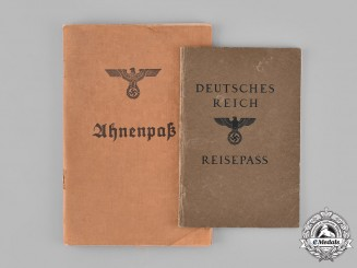 Germany, Third Reich. A Pair of Third Reich Period Identity Documents