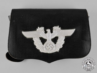 Germany, Ordnungspolizei. A German Police Pouch, by A. Fischer, c.1938
