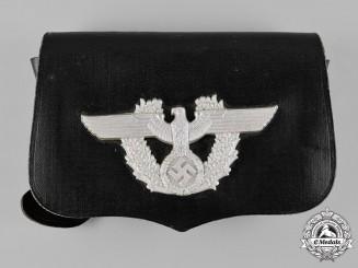 Germany, Ordnungspolizei. A German Police Pouch, by A. Fischer, c.1938