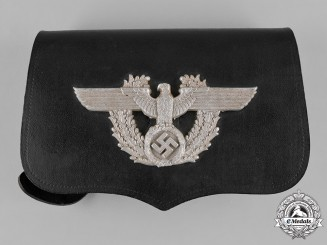 Germany, Ordnungspolizei. A German Police Pouch, by A. Fischer, c.1937