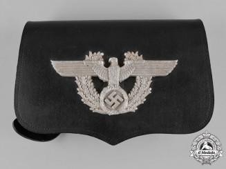 Germany, Ordnungspolizei. A German Police Pouch, by A. Fischer, c.1937