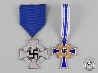 Germany, Third Reich. A Pair of Civil Awards