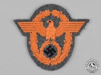 Germany, Ordnungspolizei. A Gendarmerie Sleeve Eagle