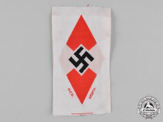 Germany, HJ. An Unissued RZM-Marked HJ Uniform Patch