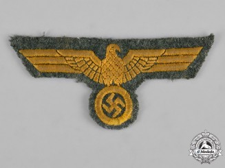 Germany, Kriegsmarine. A Navy Coastal Artillery Breast Eagle