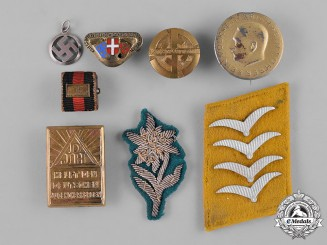 Germany, Third Reich. A Lot of Second War Period Badges and Insignia