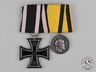Germany, Wehrmacht. A First War German Medal Bar