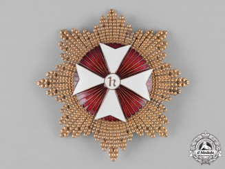 Spain, State. An Order of the Knights Hospitaller of St. John, Breast Star, c.1950