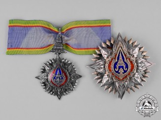 Thailand, Kingdom. A Most Noble Order of the Crown, II Class Grand Officer, c.1945
