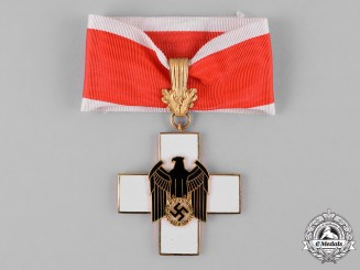 Germany, Third Reich. A Social Welfare Decoration, I Class Cross, by Gebrüder Godet