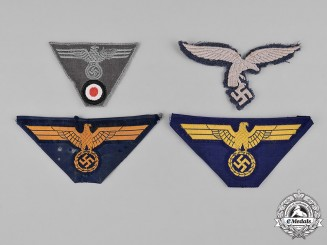 Germany, Wehrmacht. A Group of Wehrmacht Uniform Insignia