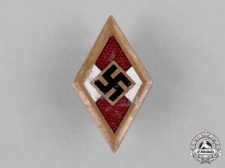 Germany, HJ. A HJ Honour Badge
