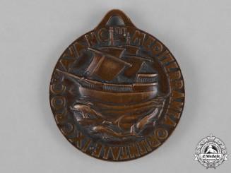 Italy, Kingdom. A National Fascist Youth Organization (ONB) Ninth Eastern Mediterranean Adventure Cruise Medal