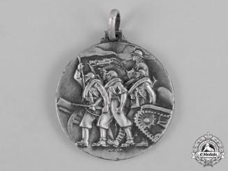 Italy, Kingdom. A Spanish Civil War Italian Corps of Volunteer Troops Battle of Santander Medal 1937