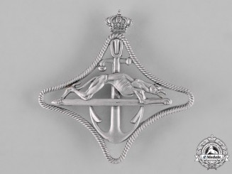 Italy, Kingdom. A Regia Marina  Armoured Torpedo Boats (MAS) Qualification Badge, c.1941
