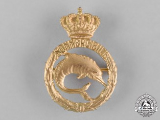 Italy, Kingdom. A Regia Marina (Royal Italian Navy) Submariner Badge, c.1942