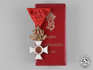 Bulgaria, Kingdom. An Order of St. Alexander, IV Class Officer, c.1925