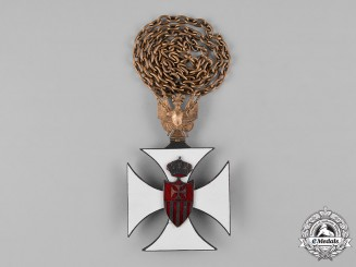 Spain, Kingdom. An Order of Our Lady of Mercy Mercedarian, Collar, c.1930