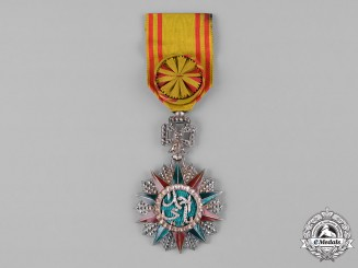 Tunisia, French Protectorate. An Order of Glory, IV Class Officer, c.1935