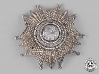 France, III Republic. A Legion of Honour, I Class Grand Cross Star, c.1910