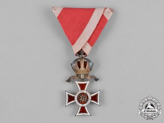 Austria, Imperial. An Order of Leopold, Knight, by Vincent Mayer, c.1918