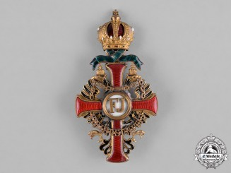 Austria, Imperial. An Order of Franz Joseph, Officer's Cross, by Vincent Meyer, c.1916