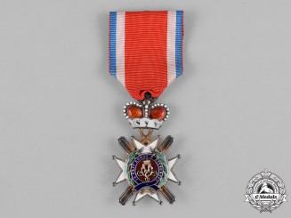 Serbia, Kingdom. An Order of the Cross of Takovo, IV Class, Officer, c.1890